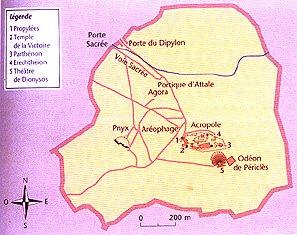 Le plan d'Athènes