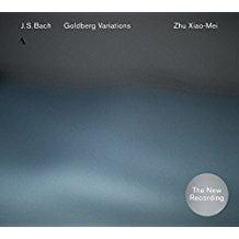 Pochette du cd des Variations Goldbert avec Zhu Xiao-Mei