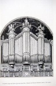 Photo des orgues de Saint-Germain-des-Prés