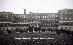 Photo de l'Institut Nazareth, chemin Saint-Michel à Montréal