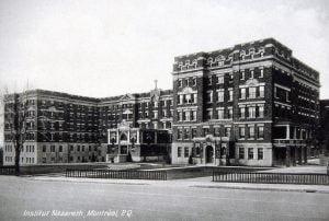 Photo de l'Institut Nazareth, chemin de la Reine-Marie à Montréal
