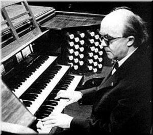 Jean Langlais aux orgues de Sainte-Clothilde