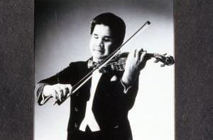 Photo de Takayashi Wanami au violon