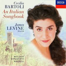 CD An Italian Songbook, Cecilia Bartoli et James Levine au piano. Decca 1997